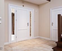 drzwi drewniane biale