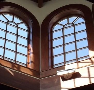 ustka okna pcv montaz